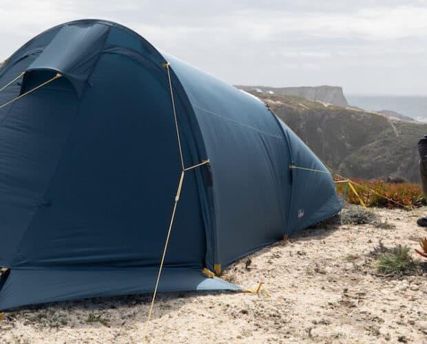 NOMAD Valley View tent in de natuur
